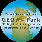 Logo des Nationalen GeoPark Thüringen Inselsberg - Drei Gleichen